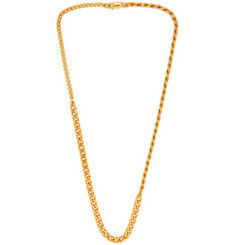 Bottega Veneta 18-Karat Gold Necklace