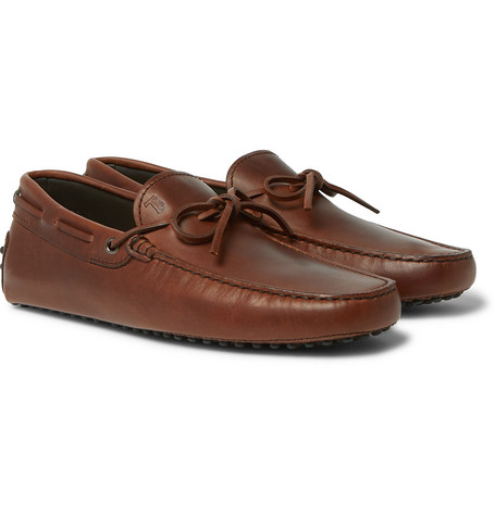Leather Driving Shoes by Tod's