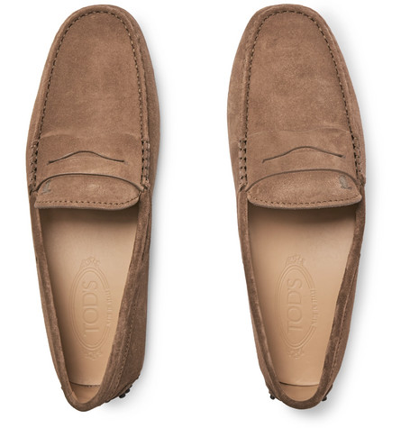 Tod's Suedes Gommino Suede Driving Shoes