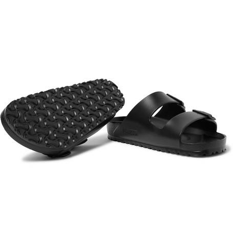 Shop Birkenstock Arizona Eva Sandals In Black
