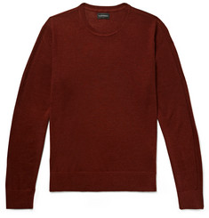 Club Monaco Lux Merino Wool, Cashmere and Silk-Blend Sweater