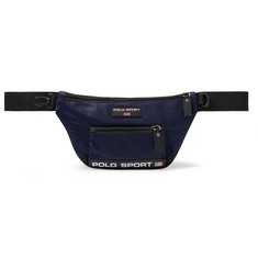 Polo Ralph Lauren Logo-Appliquéd Nylon Belt Bag