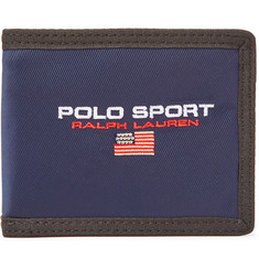 Polo Ralph Lauren Logo-Embroidered Nylon-Twill Billfold Wallet