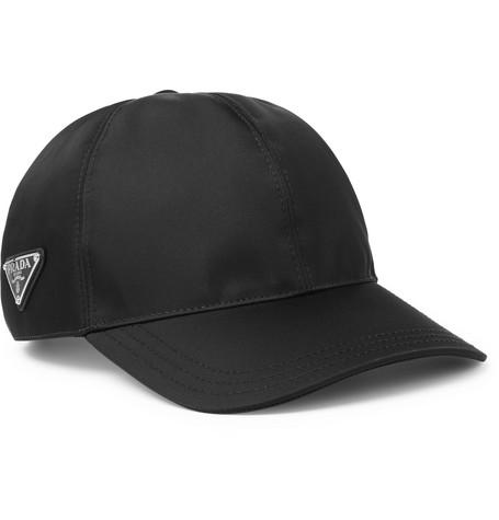 69e8e02b Prada - Logo-Appliquéd Nylon Cap