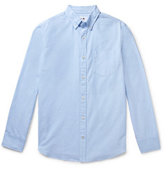 NN07 - Levon Button-Down Collar Cotton Oxford Shirt