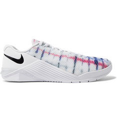 Nike Training Metcon 5 Tie-Dyed Mesh Sneakers