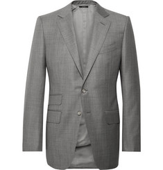 TOM FORD Grey O'Connor Slim-Fit Wool Suit Jacket