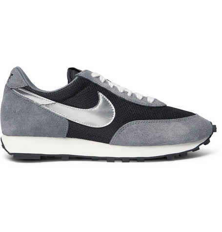 Daybreak Sp Suede And Mesh Sneakers by Nike