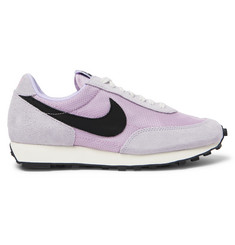 Nike Daybreak SP Suede and Mesh Sneakers