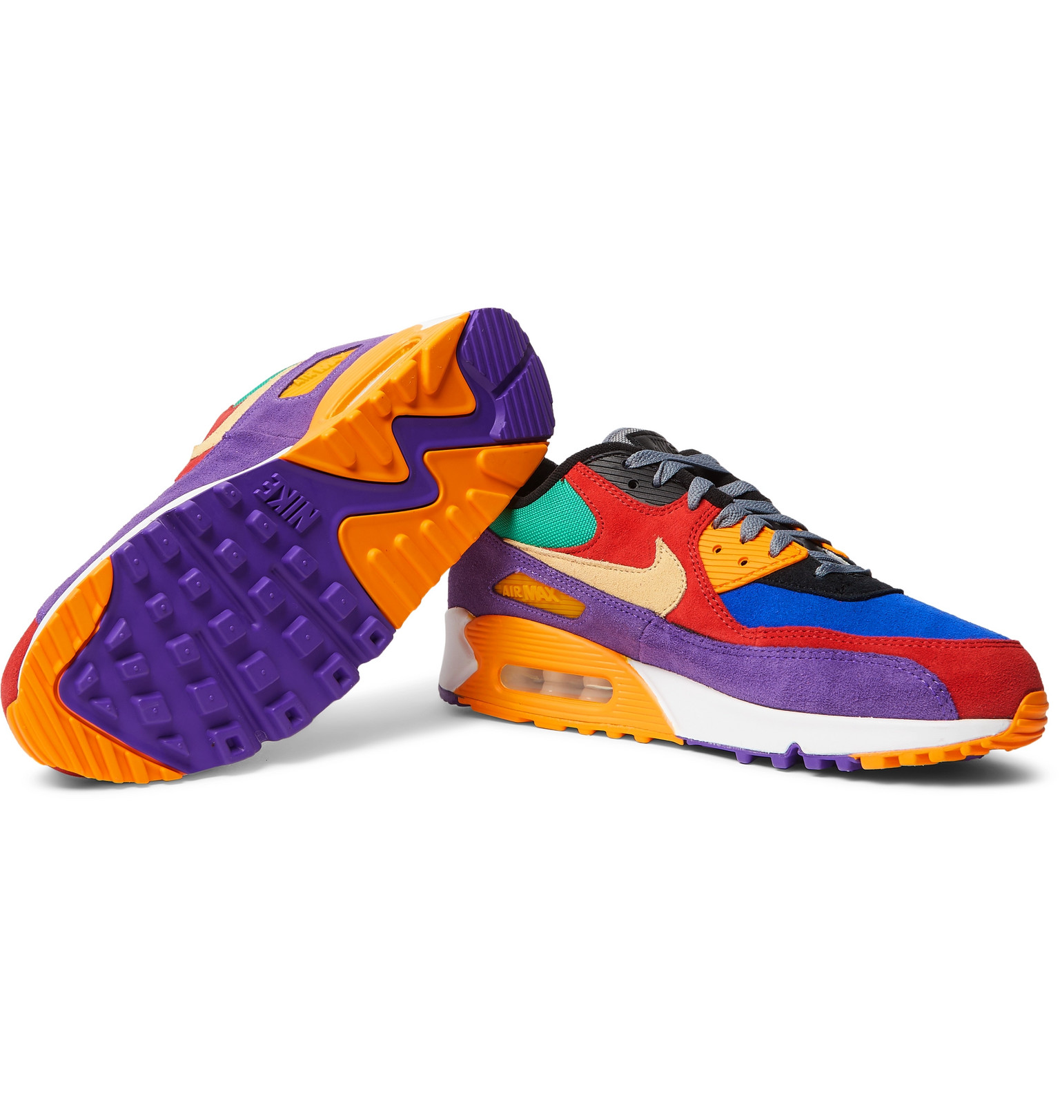 """Details about NIKE AIR MAX 90 Essential """"Grape"""" MEN'S RUNNING SHOES LIFESTYLE COMFY SNEAKERS"""