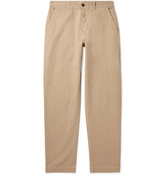 Universal Works - Tapered Linen and Cotton-Blend Trousers