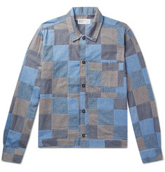 Universal Works Patchwork Cotton Blouson Jacket
