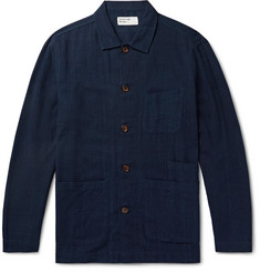 Universal Works Bakers Slub-Cotton Overshirt