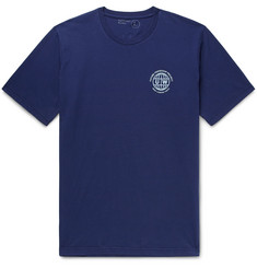 Universal Works Logo-Print Cotton-Jersey T-Shirt