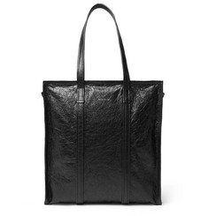 Balenciaga Creased-Leather Tote Bag
