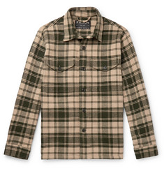 Filson Deer Island Checked Brushed Cotton-Twill Overshirt