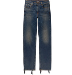 Balenciaga - Skinny-Fit Distressed Denim Jeans