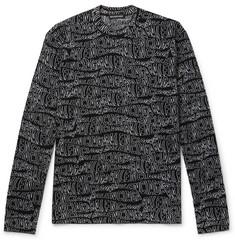 ba90bf7e071daf Balenciaga - Logo-Intarsia Virgin Wool-Blend Sweater