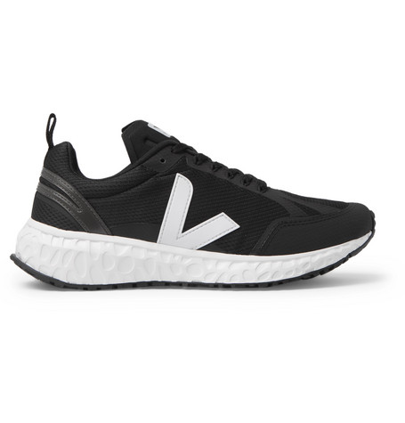 Condor Rubber Trimmed Mesh Running Sneakers by Veja