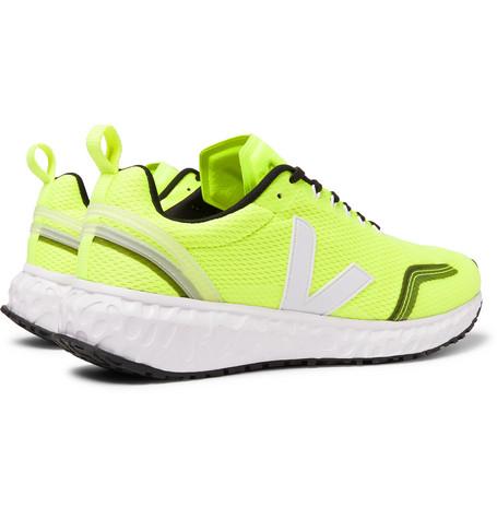 Veja Condor Rubber-Trimmed Mesh Running Sneakers In