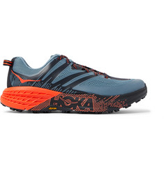 Hoka One One - Speedgoat 3 Rubber-Trimmed Mesh Trail Running Sneakers