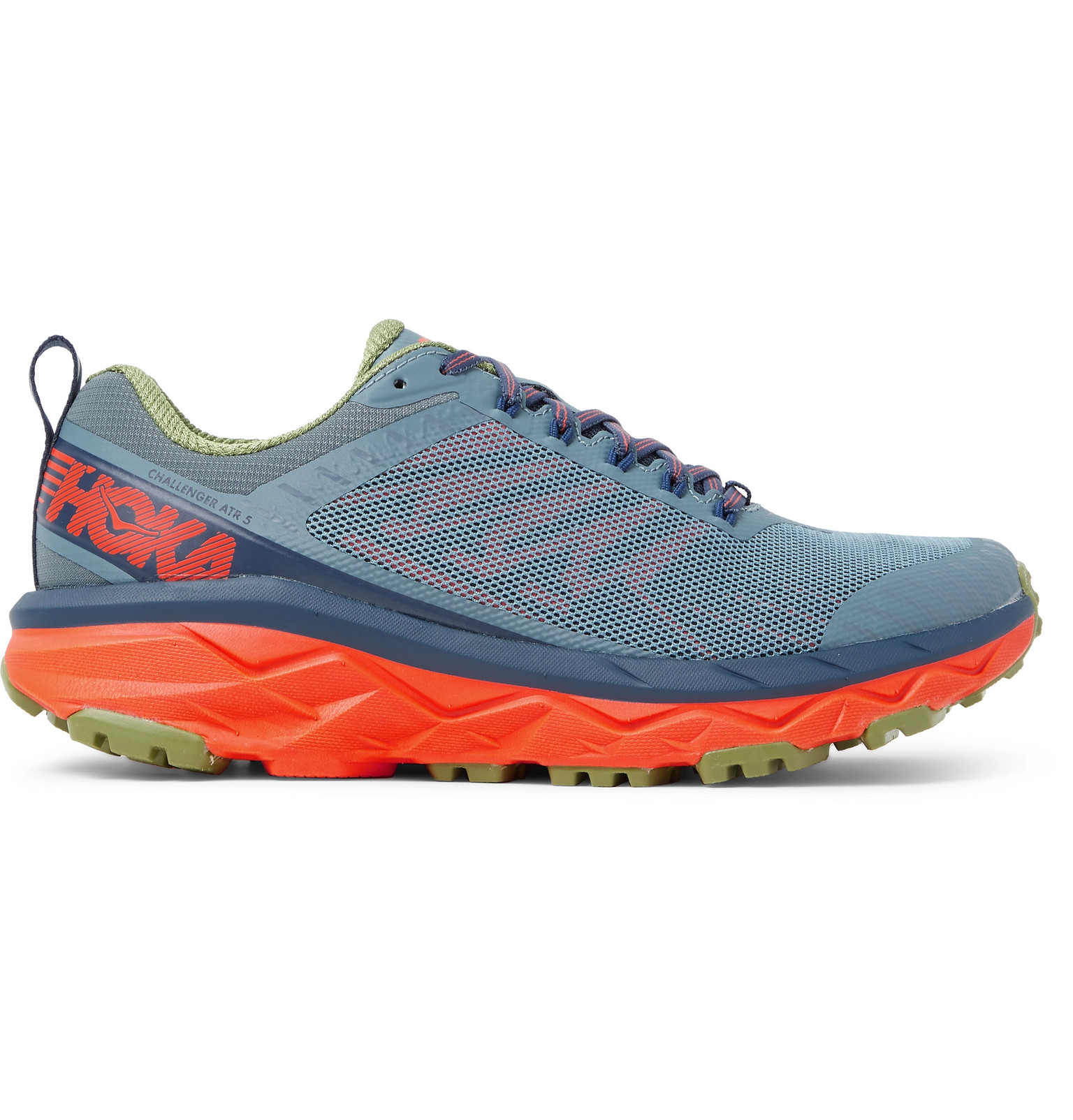 ce0a7002a Hoka One One - Challenger ATR 5 Rubber-Trimmed Mesh Trail Running Sneakers