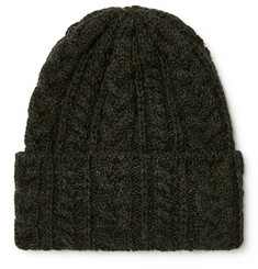 Drake's - Cable-Knit Wool Beanie