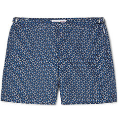 Orlebar Brown Bulldog Garda Mid-Length Printed Swim Shorts