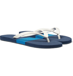 Orlebar Brown Haston Colour-Block Rubber Flip Flops