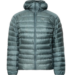 Arc'teryx Cerium LT Slim-Fit Quilted Ripstop Hooded Down Jacket