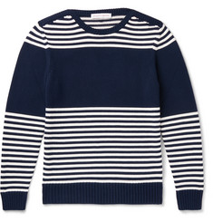Orlebar Brown Barnes Slim-Fit Striped Cotton Sweater