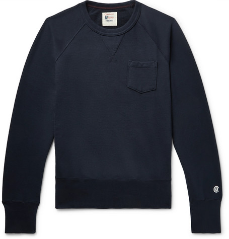 Loopback Cotton Jersey Sweatshirt by Todd Snyder + Champion