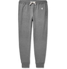 Todd Snyder + Champion Tapered Mélange Loopback Cotton-Jersey Sweatpants