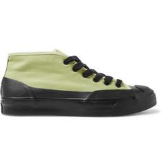 4aa17664959d Converse + A AP Nast JP Chukka Rubber-Trimmed Canvas Sneakers