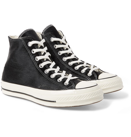 eed48ebf9ba7 Converse - 1970s Chuck Taylor All Star Calf Hair High-Top Sneakers