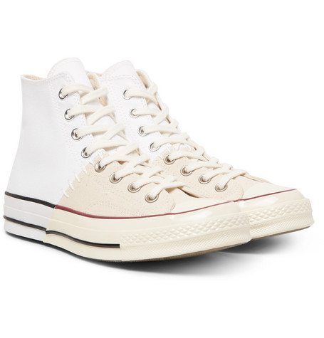 c584284c2b1691 Converse 1970S Chuck Taylor All Star Colour-Block Canvas High-Top Sneakers  In White