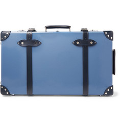 "Globe-Trotter - Deluxe 26"" Leather-Trimmed Suitcase"