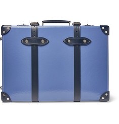 "Globe-Trotter - 20"" Leather-Trimmed Carry-On Suitcase"