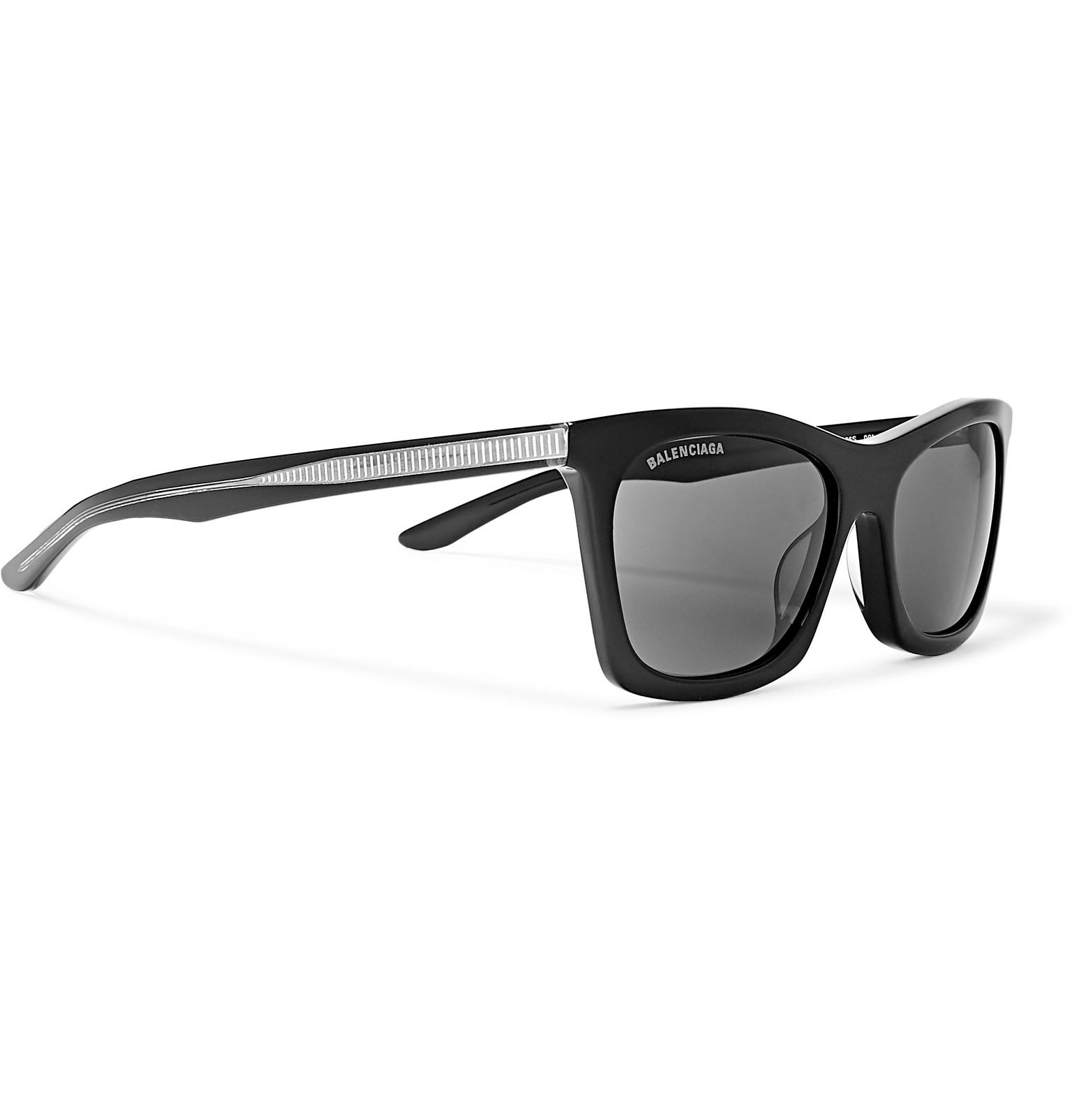 Tone Acetate Sunglasses And Balenciaga Silver D Frame xOXHZ