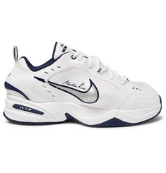 Nike + Martine Rose Air Monarch IV Faux Leather Sneakers