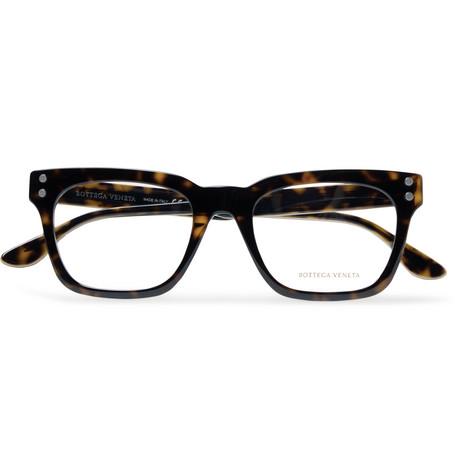 4b165123a10 Bottega Veneta - Square-Frame Tortoiseshell Acetate Optical Glasses