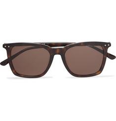 0ca160a1f Bottega Veneta Square-Frame Tortoiseshell Acetate Sunglasses