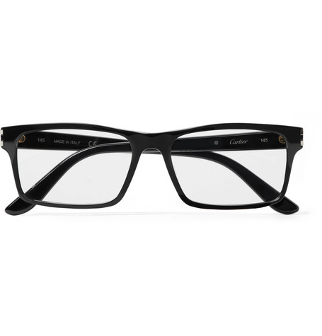 0253f5095cdb7 Cartier Eyewear - Rectangle-Frame Acetate Optical Glasses