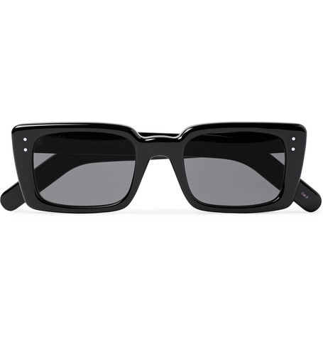 Gucci Rectangle-Frame Acetate Sunglasses