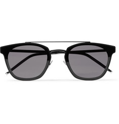 SAINT LAURENT - Aviator-Style Metal Sunglasses