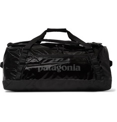 Patagonia Black Hole 55L Logo-Print DWR-Coated Ripstop Duffle Bag