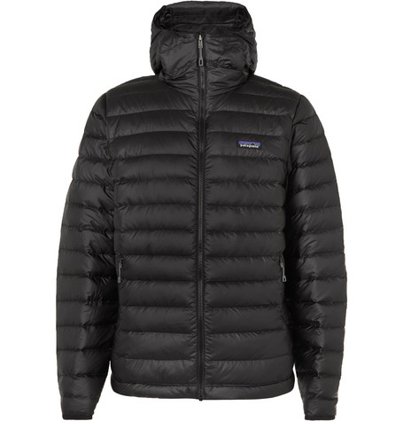 Quilted Ripstop Hooded Down Jacket by Patagonia