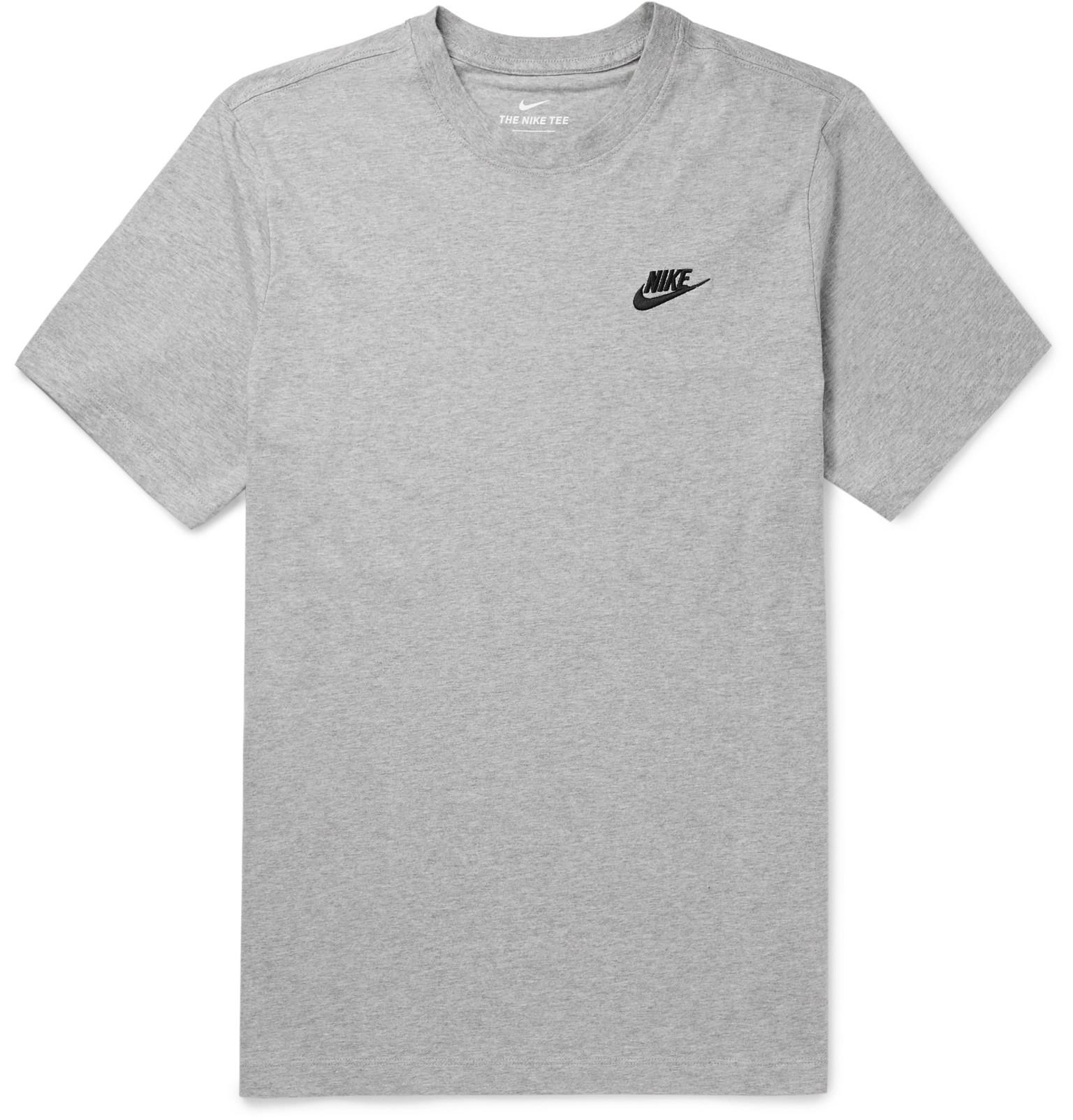 plain black nike shirt