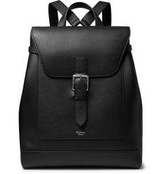 Mulberry Full-Grain Leather Backpack