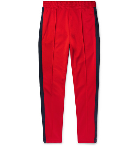 Nike – + Martine Rose Slim-fit Tapered Striped Tech-jersey Track Pants – Red